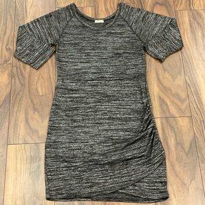 Dark grey semi formal dress 👗